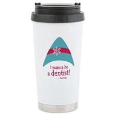 I wanna be a dentist! Travel Mug