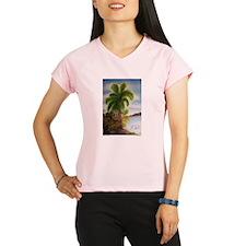 Royal Palm Poster Performance Dry T-Shirt