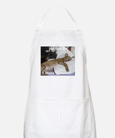 I Hate Mornings BBQ Apron
