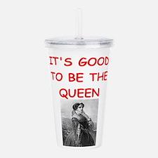 queen Acrylic Double-wall Tumbler
