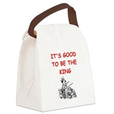 king Canvas Lunch Bag