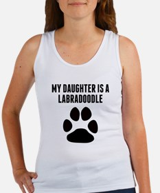 My Daughter Is A Labradoodle Tank Top