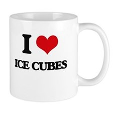 I Love Ice Cubes Mugs