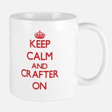 Keep Calm and Crafter ON Mugs