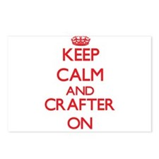 Keep Calm and Crafter ON Postcards (Package of 8)