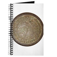 Rusty Water Meter Cover Journal
