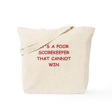 scorekeeper Tote Bag