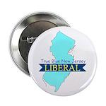 True Blue New Jersey Liberal Button
