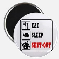 Eat Sleep Hockey -Goalie Magnet