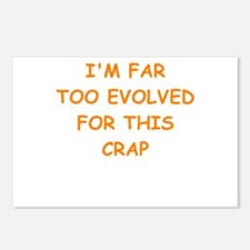 evolution Postcards (Package of 8)