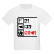 Eat Sleep Hockey -Goalie T-Shirt