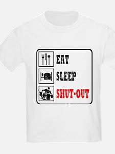 Eat Sleep Hockey -Goalie T-Shirt