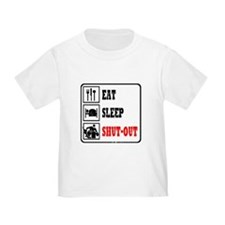 Eat Sleep Hockey -Goalie T