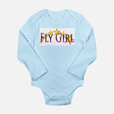 Flygirl Gold Star Body Suit