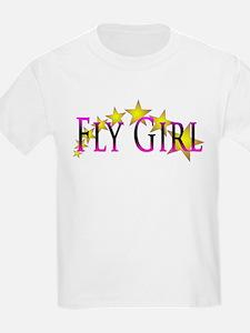 Flygirl Gold Star T-Shirt
