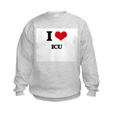 I Love Icu Sweatshirt