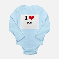 I Love Icu Body Suit