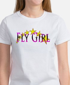 Flygirl Gold Star T-Shirt