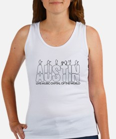 Austin Live Music Band Women's Tank Top