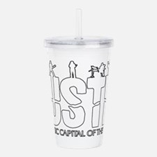 Austin Live Music Band Acrylic Double-wall Tumbler
