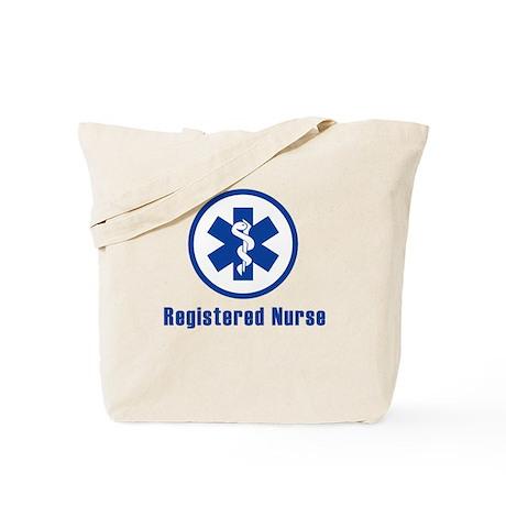 RN blue Tote Bag