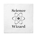 Science Wizard Queen Duvet