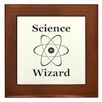 Science Wizard Framed Tile