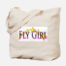 Flygirl Gold Star Tote Bag