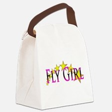 Flygirl Gold Star Canvas Lunch Bag