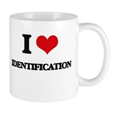 I Love Identification Mugs
