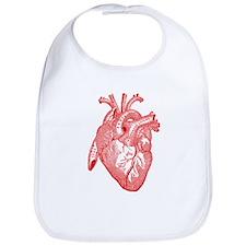 Anatomical Heart - Red Bib