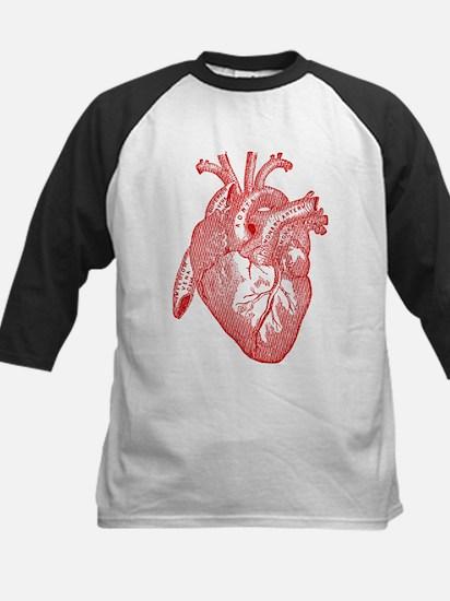 Anatomical Heart - Red Baseball Jersey