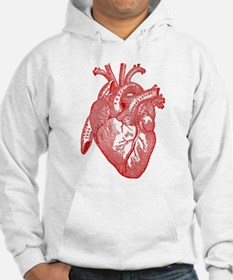 Anatomical Heart - Red Jumper Hoody