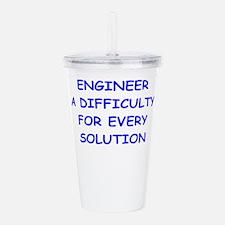 engineer Acrylic Double-wall Tumbler