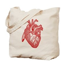 Anatomical Heart - Red Tote Bag