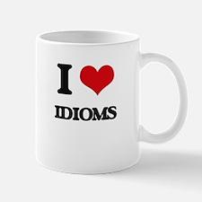 I Love Idioms Mugs