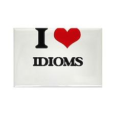 I Love Idioms Magnets