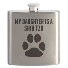 My Daughter Is A Shih Tzu Flask