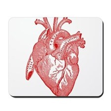 Anatomical Heart - Red Mousepad