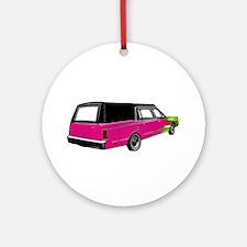 One Last Ride Ornament (Round)