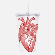 Anatomical Heart - Red Acrylic Double-wall Tumbler