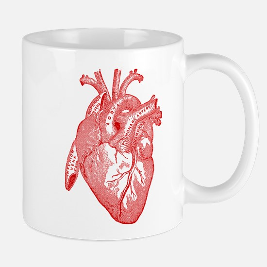 Anatomical Heart - Red Mugs