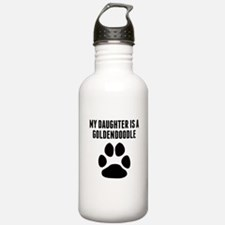 My Daughter Is A Goldendoodle Water Bottle