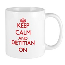 Keep Calm and Dietitian ON Mugs