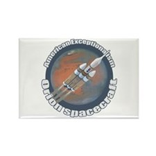 Orion Spacecraft Rectangle Magnet