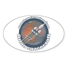 Orion Spacecraft Decal