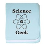 Science Geek baby blanket