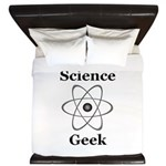 Science Geek King Duvet
