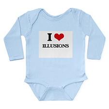 I Love Illusions Body Suit
