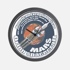 Orion Spacecraft 2 Wall Clock